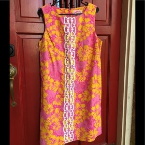 Vintage Lilly Pulitzer Original Ten Ton Bouquet 14